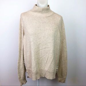 Anthropologie Sweaters - MOTH Anthropology Apres Fete Turtleneck Sweater
